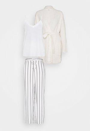 HARLEM RICOT SET - Pyjamas - ecru