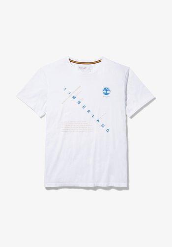 KENNEBEC RIVER STORY TELLING - Print T-shirt - white