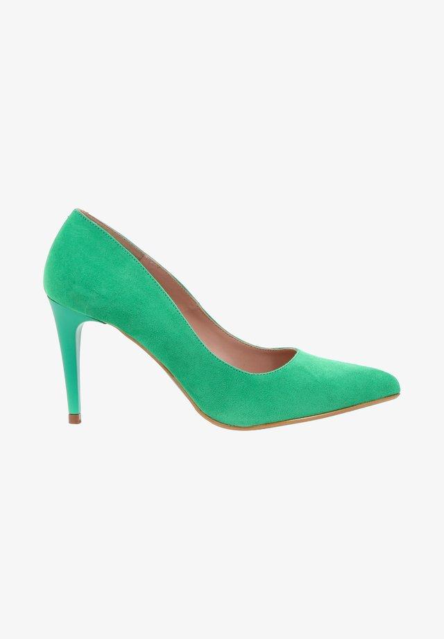 Klassieke pumps - green
