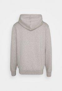 Han Kjøbenhavn - CASUAL ZIP HOODIE - Zip-up hoodie - grey melange - 1