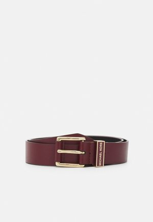 BELT - Belt - dark berry/gold-coloured