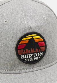 Burton - KIDS UNDERHILL HAT UNISEX - Kšiltovka - monument heather - 3