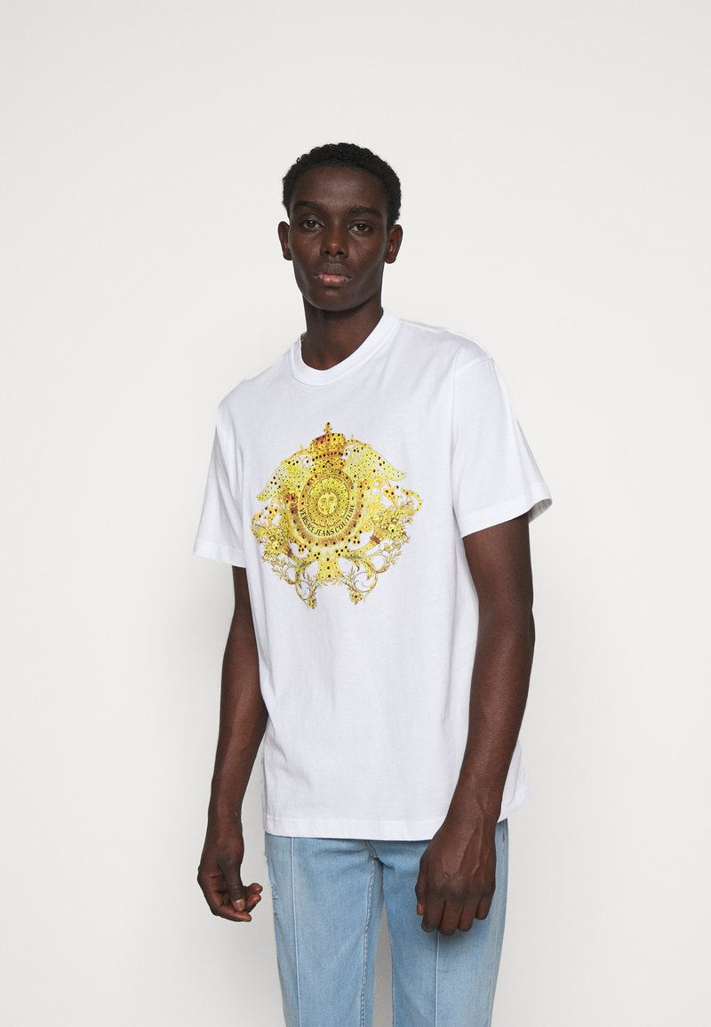Versace Jeans Couture - MARK - Print T-shirt - white