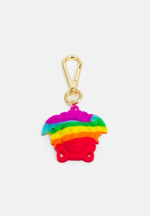 UNISEX - Keyring - rainbow/gold-colored