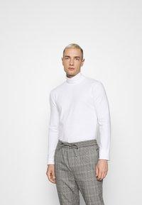 Topman - ROLL NECK 2 PACK - Long sleeved top - black/white - 1