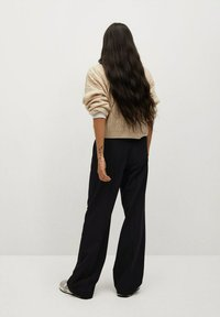 Mango - POCKET - Trousers - zwart - 2