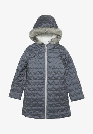OUT PADDED COAT QUILTED HEART  - Zimní kabát - grey