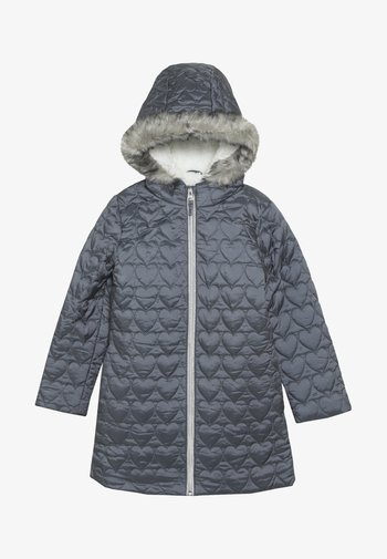 OUT PADDED COAT QUILTED HEART