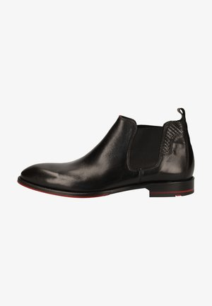Classic ankle boots - schwarz/rot