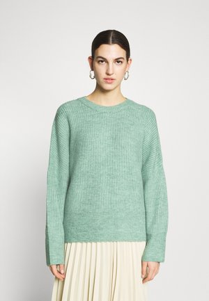 GILLIAN - Jumper - dusty turquoise