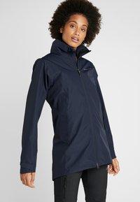 Didriksons - NOOR WOMENS - Waterproof jacket - dark night blue - 0