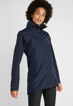NOOR WOMENS - Waterproof jacket - dark night blue