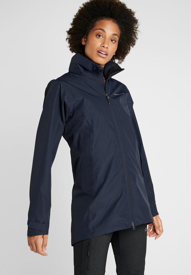 NOOR WOMENS - Waterproof jacket - dark night blue