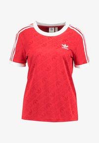 adidas Originals - TEE - T-shirt med print - scarlet - 3