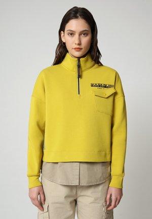 B-OAHU - Sweatshirt - yellow moss