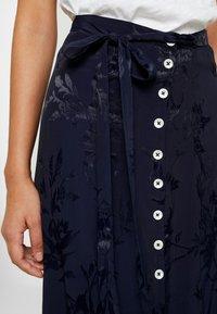Leon & Harper - JAYGGER - A-line skirt - black iris - 4