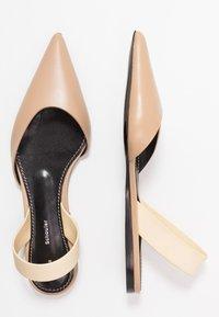 Proenza Schouler - Slingback ballet pumps - deserto/cream - 3
