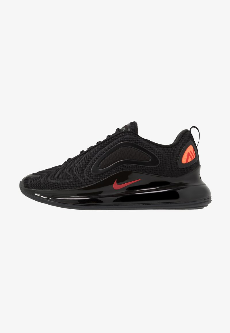 Nike Sportswear - AIR MAX 720 - Sneakers - black/hyper crimson/university red/cool grey