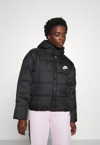 Nike Sportswear - CLASSIC - Winter jacket - black/white - 0