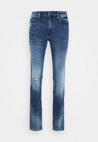 Only & Sons - ONSLOOM ZIP - Jeans slim fit - blue denim - 3
