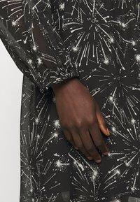 MAX&Co. - RAFIA - Day dress - black - 5