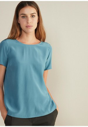 Basic T-shirt - blau -aviatore