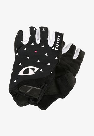 JAGETTE - Fingerless gloves - black sharktooth