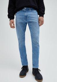 PULL&BEAR - Slim fit jeans - stone blue denim - 0