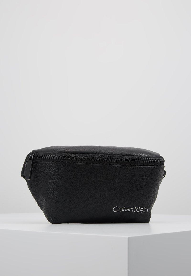 Calvin Klein - DIRECT WAISTBAG - Marsupio - black