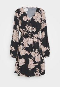 ONLY - ONLALMA LIFE DRESS - Vapaa-ajan mekko - black/vintage flower - 0