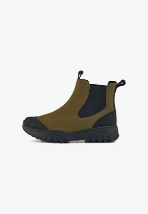 MAGDA TRACK BOOT - Classic ankle boots - Dark green