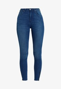 Lee - SCARLETT HIGH ZIP - Jeans Skinny Fit - blue denim - 4