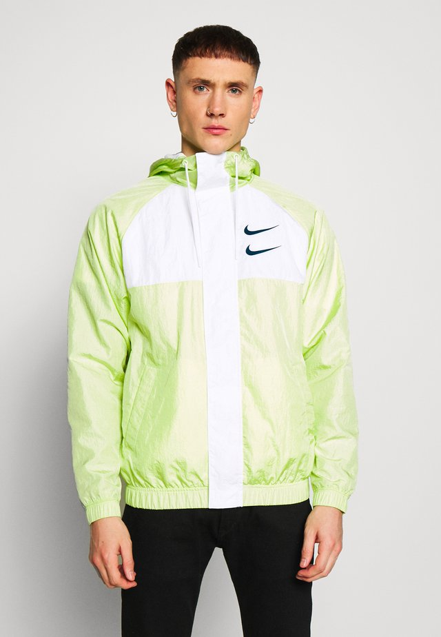 Summer jacket - barely volt/white/blue force