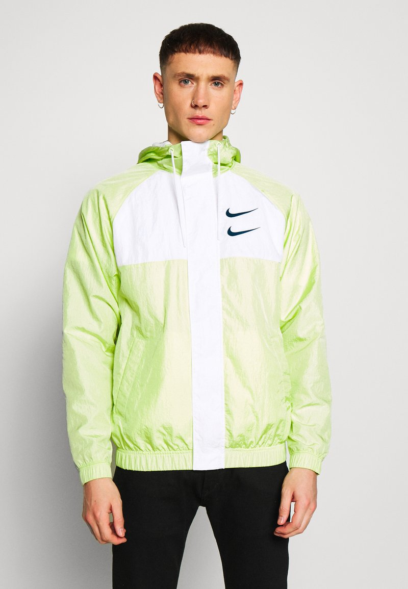 Nike Sportswear - Summer jacket - barely volt/white/blue force