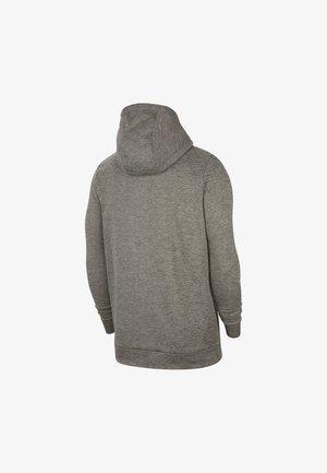 THRMA  - veste en sweat zippée - dark grey heather/black