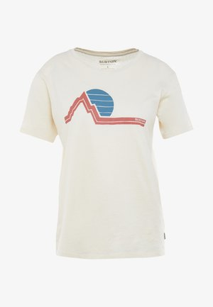 WOMENS CLASSIC RETRO SHORT SLEEVE - T-shirts med print - creme brulee