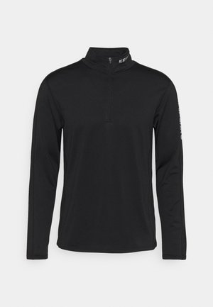 FLEMINTON - Fleece jumper - black