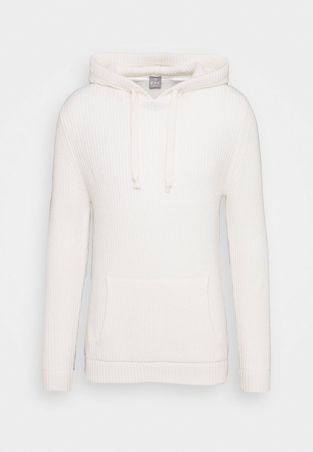 HOODY - Mikina s kapucí - offwhite