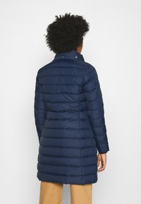 Tommy Jeans - ESSENTIAL HOODED COAT - Płaszcz puchowy - twilight navy - 4