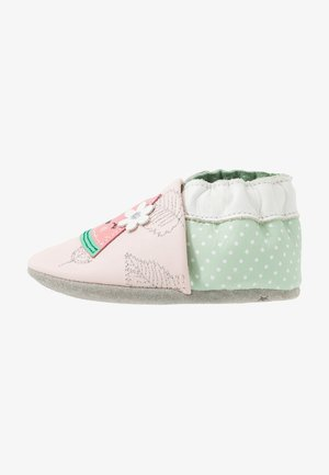 FRUIT'S PARTY - Babyschoenen - rose clair/vert clair