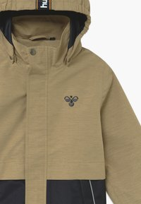 Hummel - MARK - Outdoorová bunda - beige/dark blue - 4
