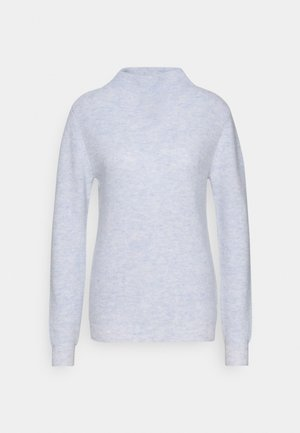 FUNNEL NECK - Jumper - light blue
