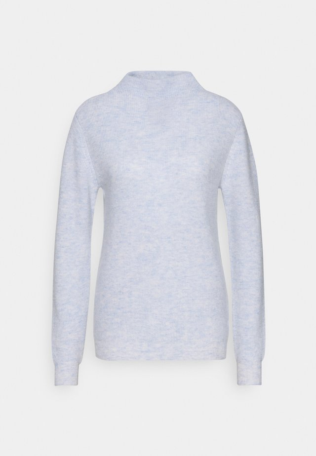 FUNNEL NECK - Pullover - light blue