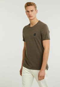CHASIN' - SHORE - T-shirt print - green - 2