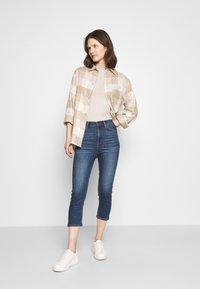 Marks & Spencer London - CROPPED - Jeans Skinny Fit - dark blue denim - 1