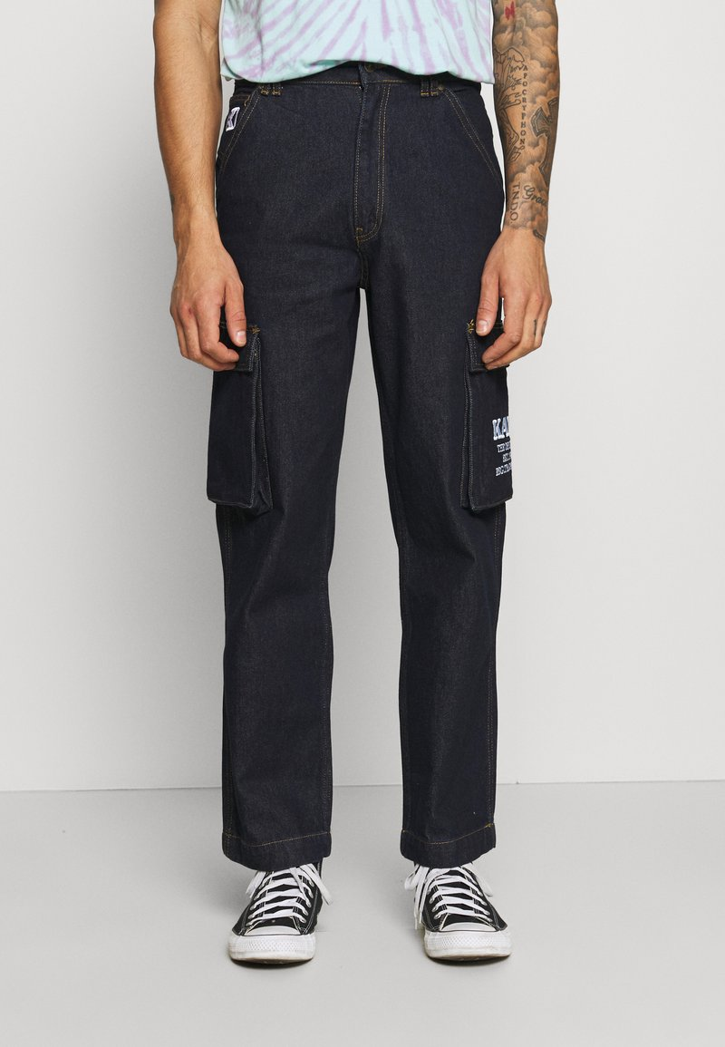 Karl Kani - BAGGY - Jeans baggy - dark blue