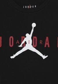 Jordan - BRAND TEE - T-shirt print - black - 3