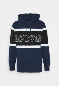 Levi's® - PIECED HOODIE UNISEX - Kapuzenpullover - racer blu - 3