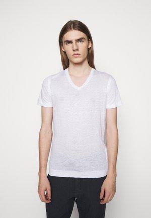 SHORT SLEEVE - Jednoduché triko - white