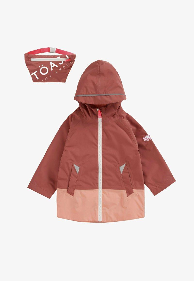 Töastie - FEATHERLITE PAC-A-MAC - Waterproof jacket - pink